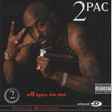 Cd 2pac Tupac Shakur All Eyez On Me  remst  [import] Lacrado